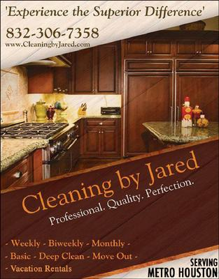 Cleaning By Jared