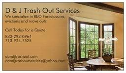 D & J Trash Out Services