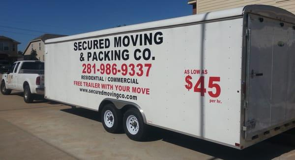 Secured Moving & Packing Co