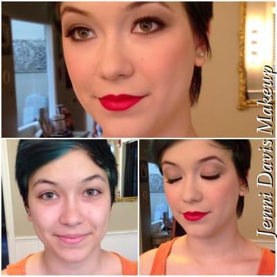 Jenni Davis Makeup