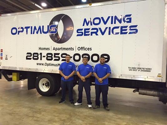 Optimus Moving Services