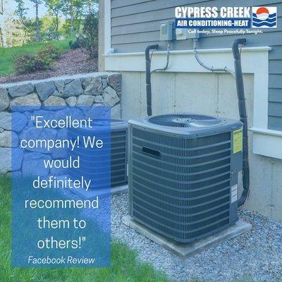 Cypress Creek Air Conditioning-Heat