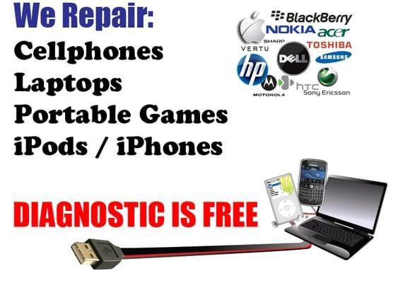 Cell Phone Repair Ipad Samsung Iphone