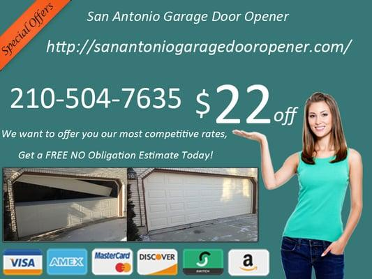 Garage Door Opener San Antonio