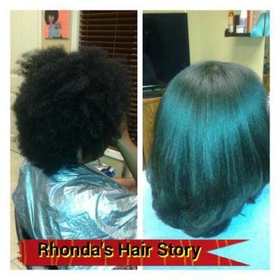 Rhonda's Hair Story