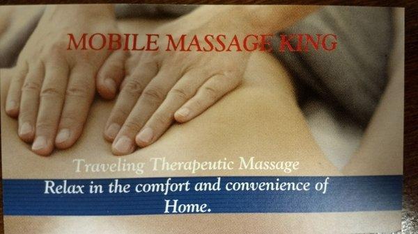 Mobile Massage King