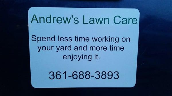 Andrew's Lawn Care