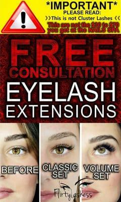 """Eyelash Extensions by Alejandra """"Flirtylashess"""""""