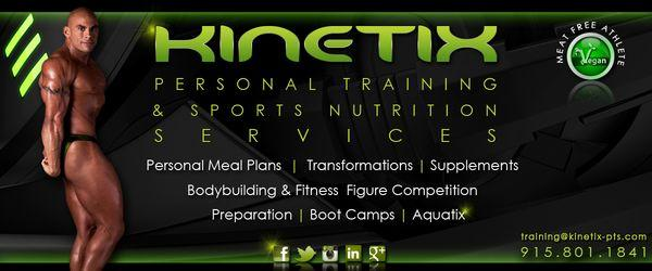 Kinetix Personal Training & Sports Nutrition Services