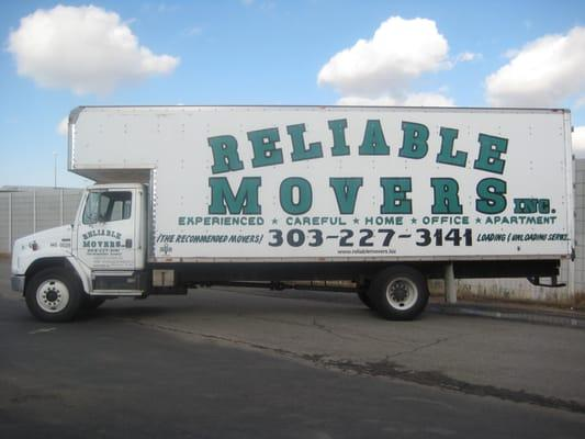 Reliable Movers, Inc.