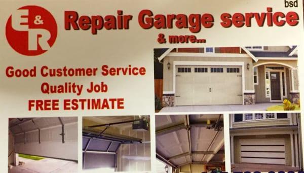E.R Repair Garage Service