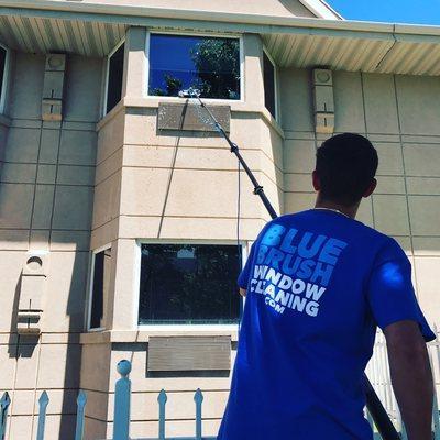 Blue Brush Window Cleaning