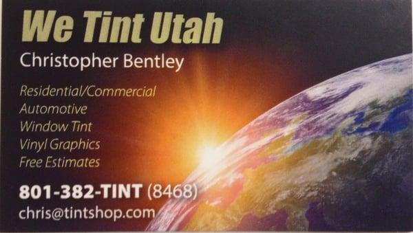 We Tint Utah
