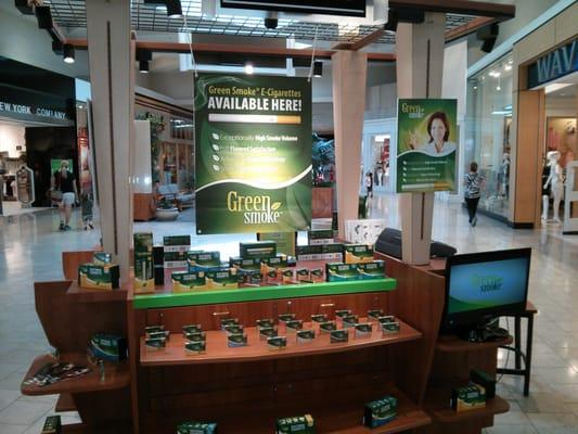 Greensmoke AZ Kiosk at PV mall
