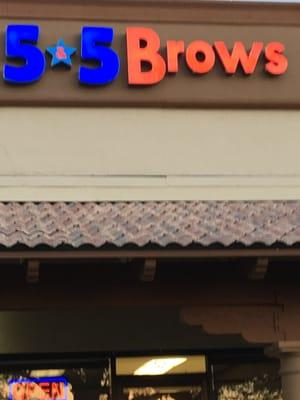 5-5 Brows