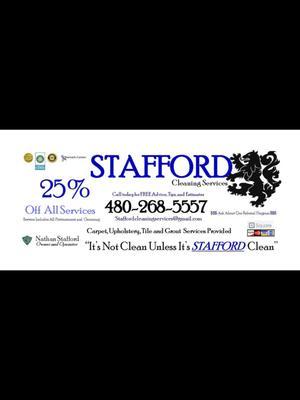 Stafford Cleaning Service, LLC