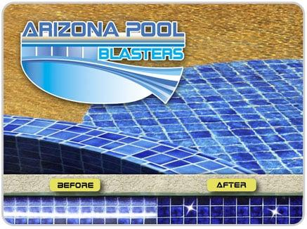 Pool Tile Cleaning, AZ