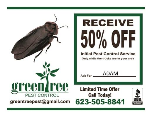 Greentree Pest Control
