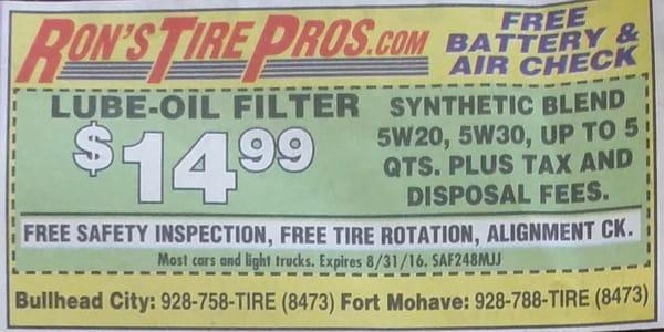 Ron's Tire Pros