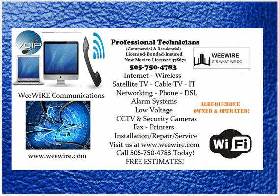 WeeWIRE Communications