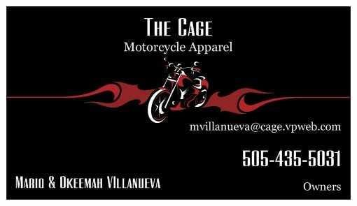 The Cage Motorcycle Apparel