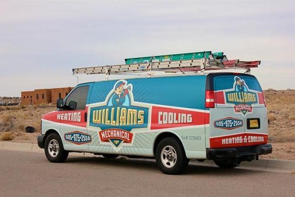 Williams Mechanical Heating & Air Conditioning LLC