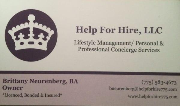 Help For Hire LLC