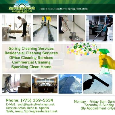 Spring Fresh Cleaning Service
