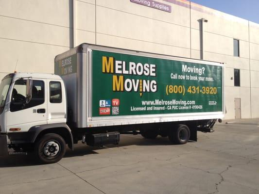 Melrose Moving Los Angeles