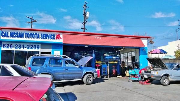 Cal Nissan Toyota Service