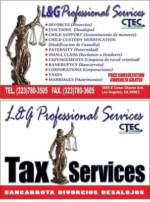 L and G Profesional Services