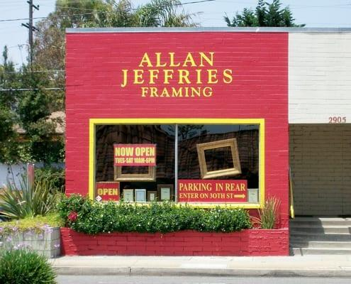 Allan Jeffries Framing