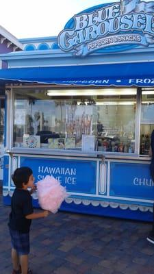 Blue Carousel Popcorn and Snacks
