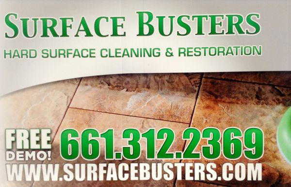 Surface Busters