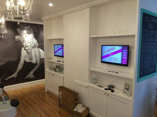 Installation King TV mounting