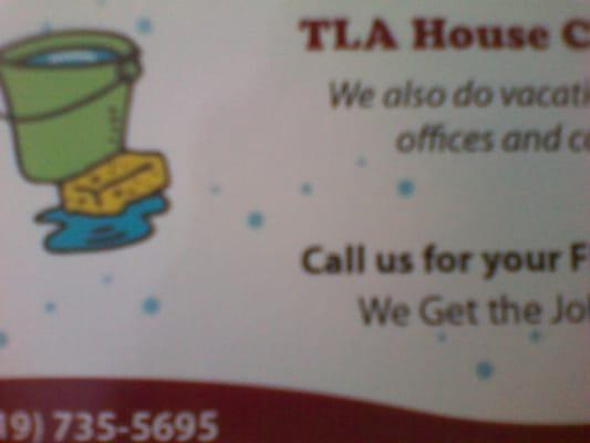 TLA House Cleaning