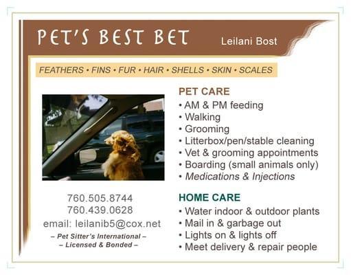 Pet's Best Bet
