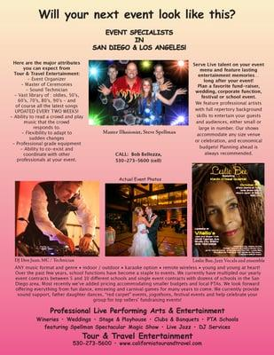 Tour and Travel Entertainment