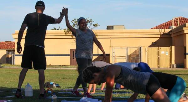 Man Up Boot Camp and Personal Training