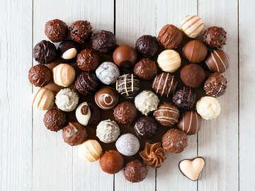Tasty Image Chocolates