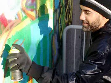 Graffiti Art with Rajan Sedalia