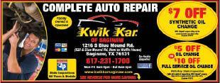 Kwik Kar Auto Care Of Saginaw