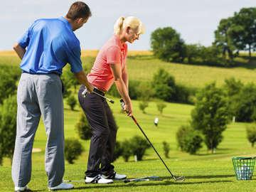 Aahh! Golf Lessons!