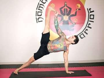 Namaste Warrior Yoga