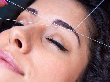 Bollywood Eyebrow Threading