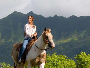 Bright Morning Horseback Riding