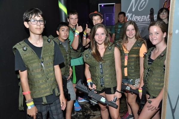 No Surrender Laser Tag