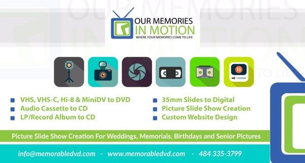 Our Memories in Motion