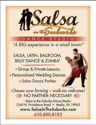 Salsa in the Suburbs