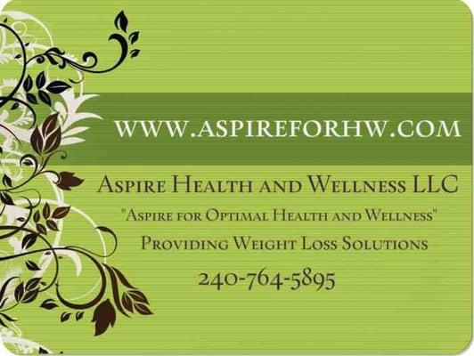 Aspire Health and Wellness LLC